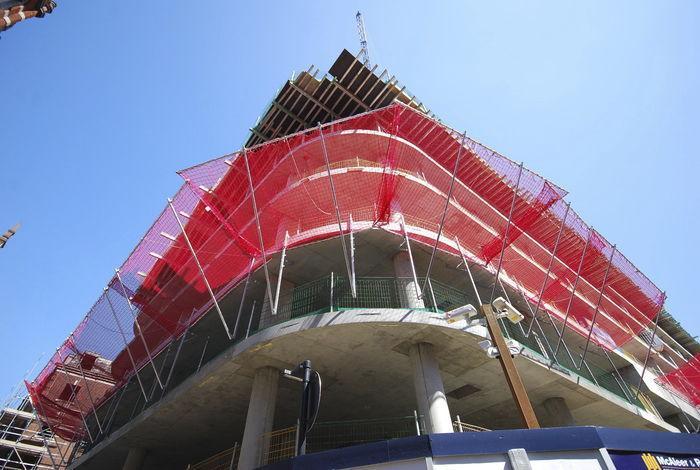 empresas de redes de seguridad para obras en Murcia y Alicante
