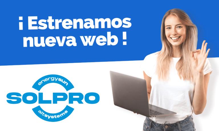 Estrenamos nueva web - SOLPRO