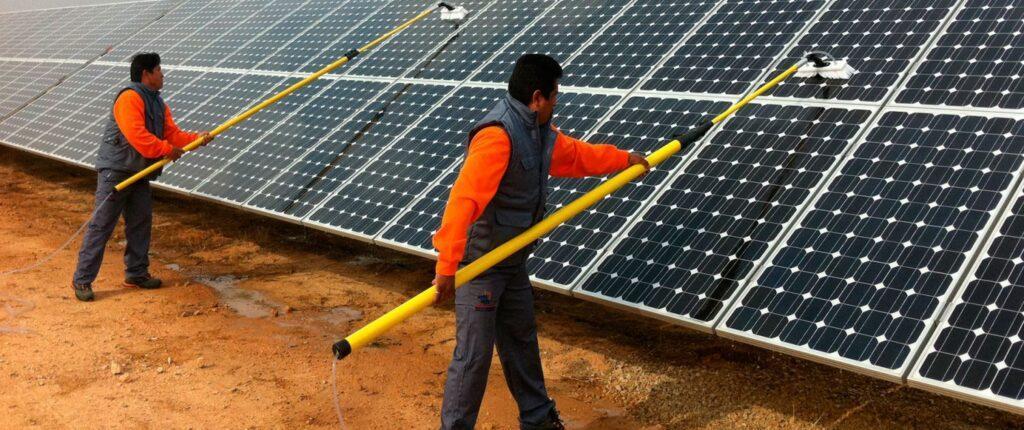 SOLPRO-limpieza de placas solares