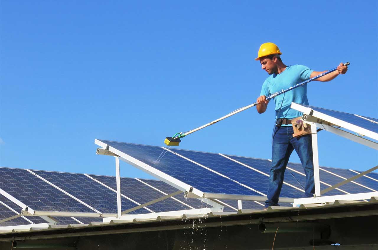 Limpieza de placas solares - SOLPRO ENERGIA SOLAR