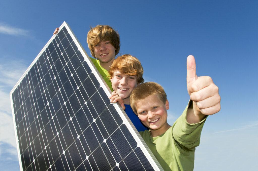 Energía solar en los colegios