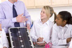 Instalar placas solares en los colegios - SOLPRO